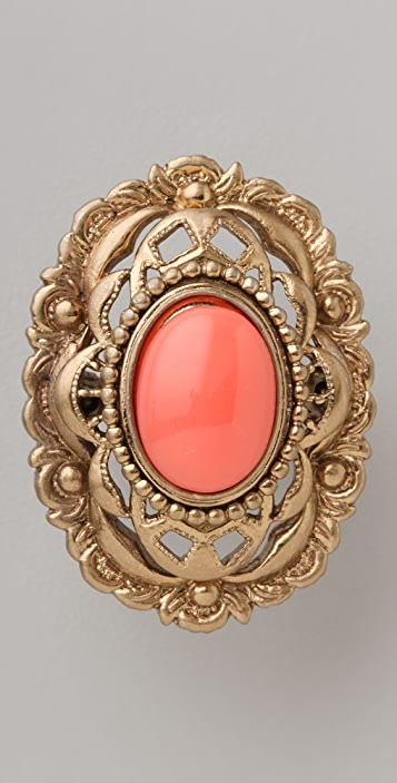 Juicy Couture Antiqued Openwork Ring