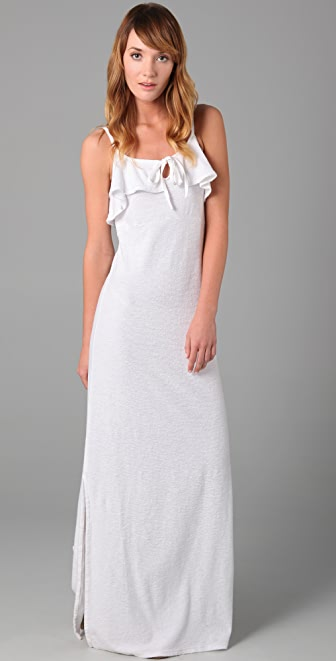 Juicy Couture Terry Maxi Dress with Linen Straps