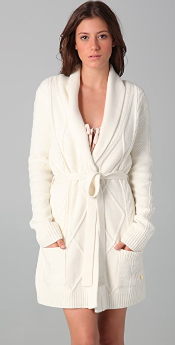 Juicy Couture Cable Robe