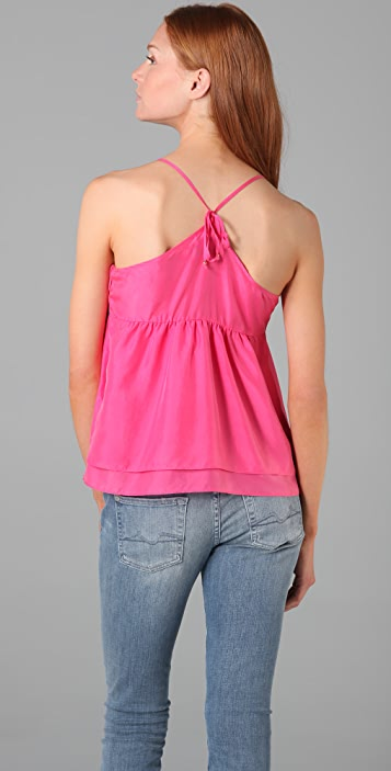 Juicy Couture Washed Silk Camisole