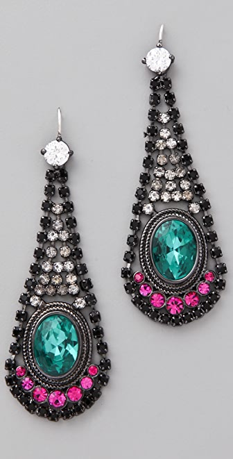 Juicy Couture Teardrop Earrings