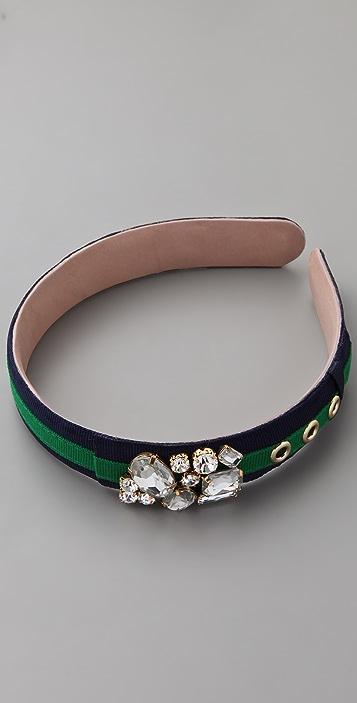 Juicy Couture Cluster Gemstone Headband