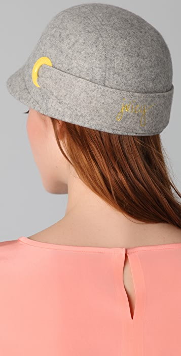 Juicy Couture Round Cap with Rings