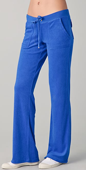 Juicy Couture Snap Pocket Boot Cut Pants