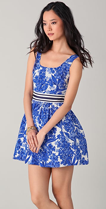 Juicy Couture Hyacinth Floral Dress