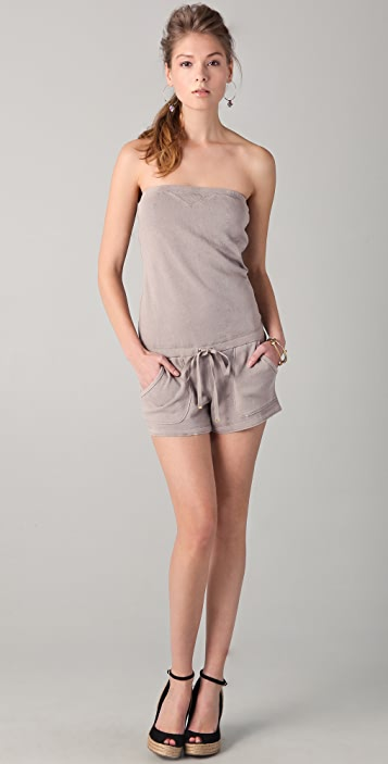 Juicy Couture Breezy French Terry Romper
