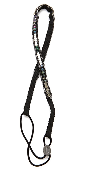 Juicy Couture Beaded Stretch Headband