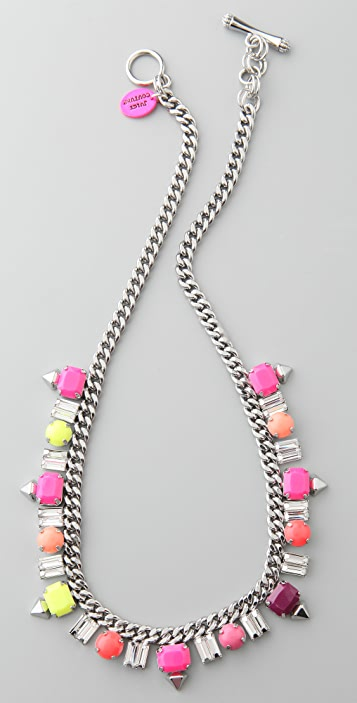 Juicy Couture Gemstud Necklace