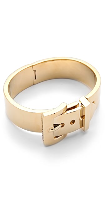 Juicy Couture Wide Buckle Bangle