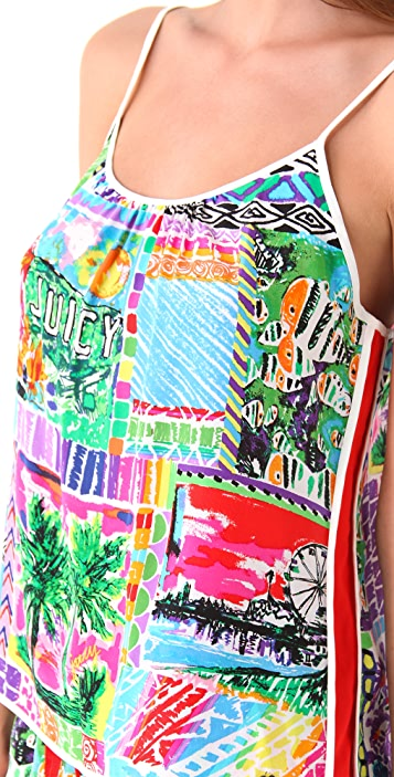 Juicy Couture Destination Print Camisole