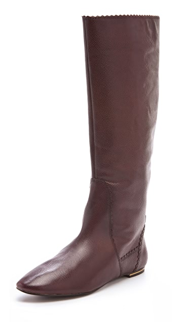 Juicy Couture Boxer Flat Boots