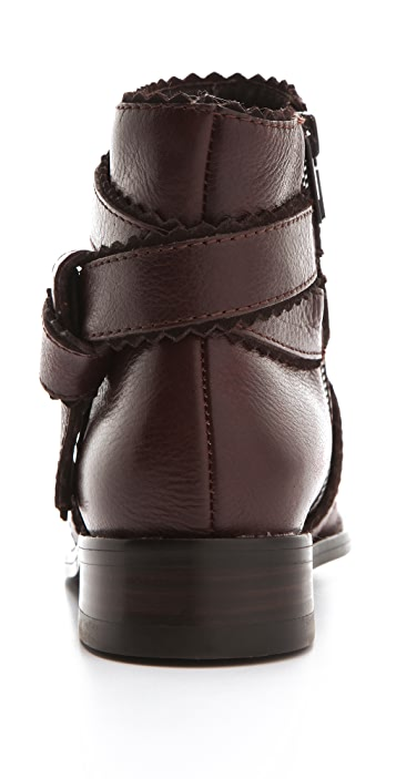 Juicy Couture Rino Wrap Strap Booties