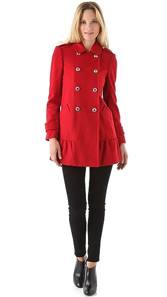 Juicy Couture Ruffle Coat
