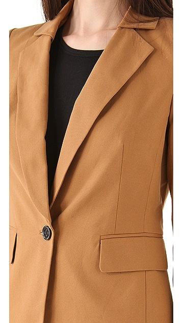 Juicy Couture Sharp Shoulder Blazer
