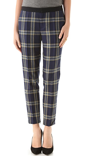 Juicy Couture Eton Plaid Pants