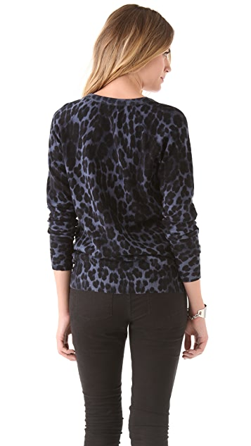 Juicy Couture Youthquake Leopard Sweater