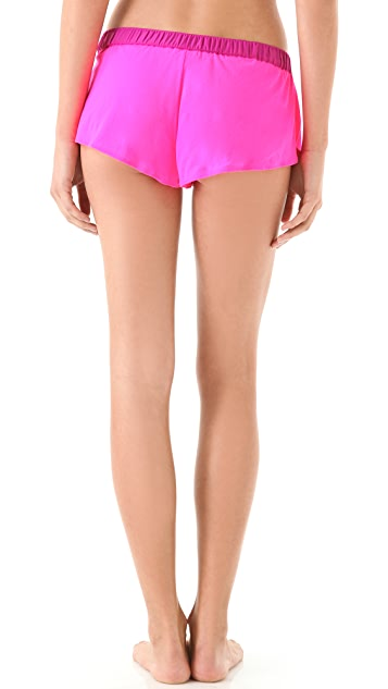 Juicy Couture Neon Mesh Shorts