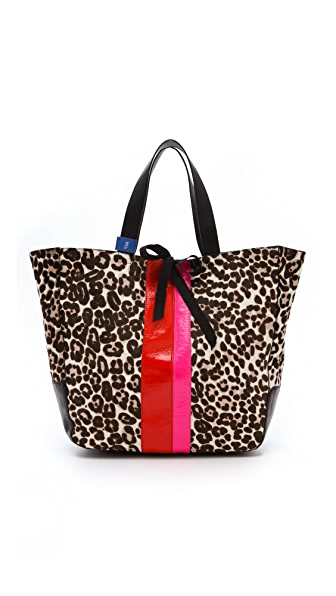 Juicy Couture Leopard Haircalf Tote