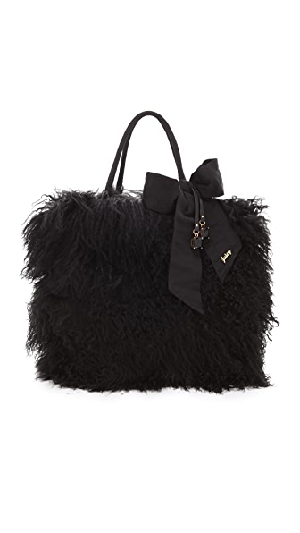 Juicy Couture Theodora Shearling Tote