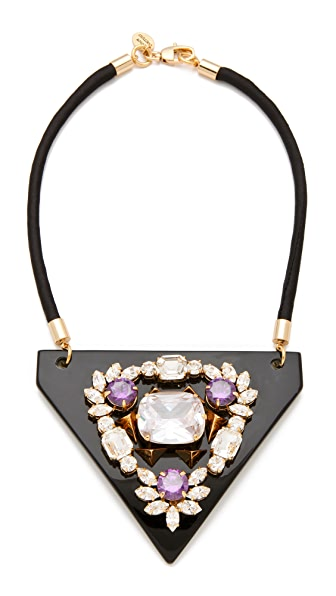 Juicy Couture Breast Plate Necklace