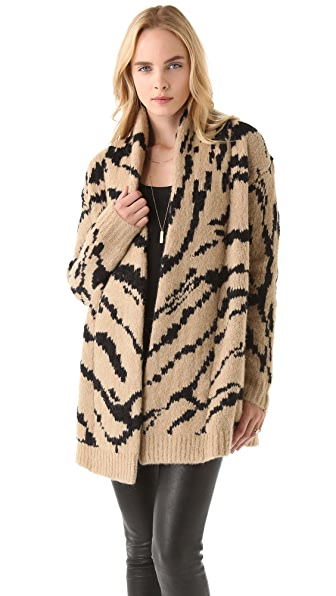Juicy Couture Ziger Cardigan Coat