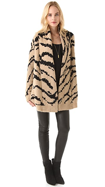 Juicy Couture Ziger Cardigan Coat
