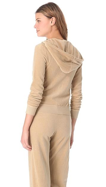 Juicy Couture Original Velour Zip Hoodie