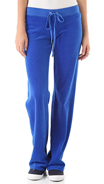 Juicy Couture Original Wide Leg Velour Pants