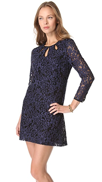 Juicy Couture Contrast Lace Dress