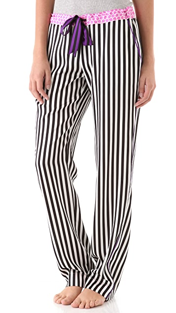 Juicy Couture Pants with Contrast Waistband