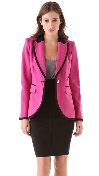 Juicy Couture Bright Wool Blazer