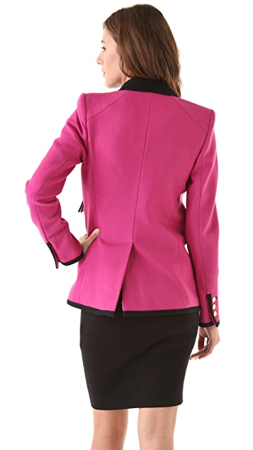 Juicy Couture Bright Wool Blazer