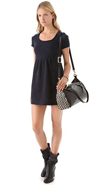 Juicy Couture Tough Girl Leather Charlie Satchel