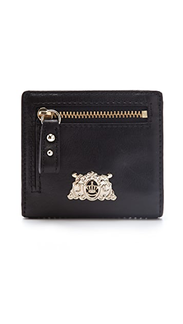 Juicy Couture Tough Girl Leather Evening Wallet