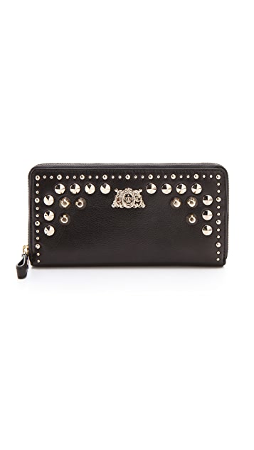 Juicy Couture Tough Girl Leather Zip Wallet