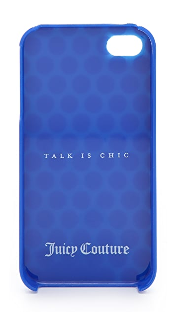 Juicy Couture Talk is Chic Polka Dot iPhone Case