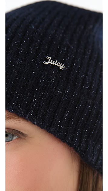 Juicy Couture Ribbed Beanie