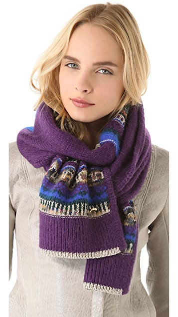 Juicy Couture Mixed Yarn Scarf