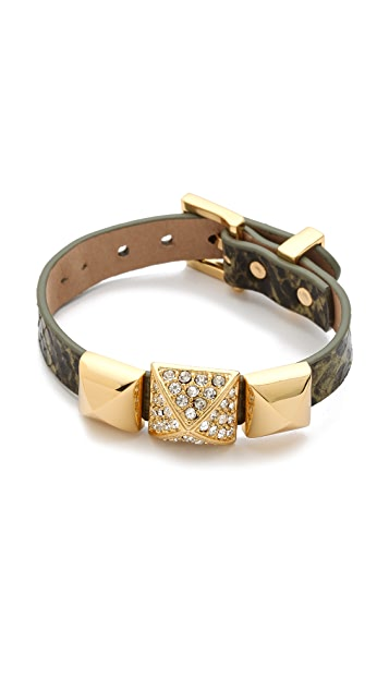 Juicy Couture Pyramid Watch Strap Bracelet