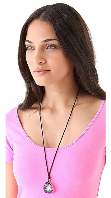 Juicy Couture Stone Pendant Necklace