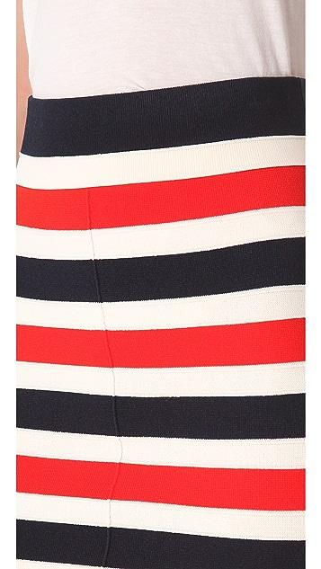 Juicy Couture Atlantic Stripe Milano Skirt