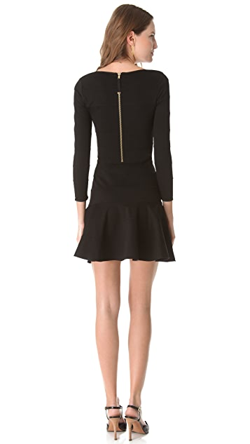 Juicy Couture Pieced Fluid Banded Dress