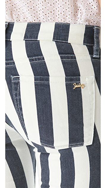 Juicy Couture Awning Stripe Jeans