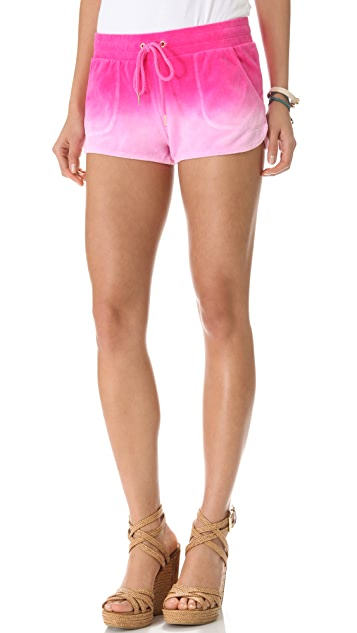 Juicy Couture Velour Dolphin Shorts