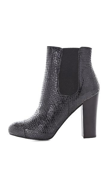 Juicy Couture Roxanna Snake Print Booties