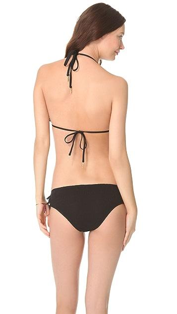 Juicy Couture Prima Donna Ruffle Triangle Bikini Top