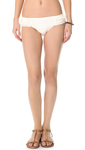Juicy Couture Prima Donna Ruffle Bikini Bottoms