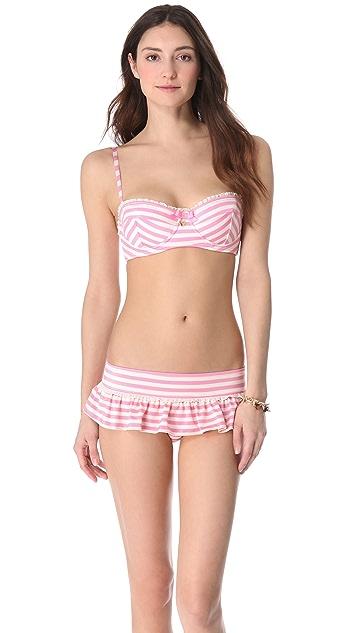 Juicy Couture Boudoir Bikini Top