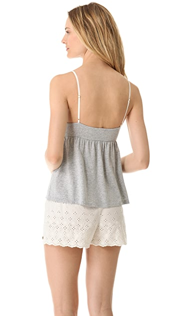 Juicy Couture Eyelet Loungewear Camisole