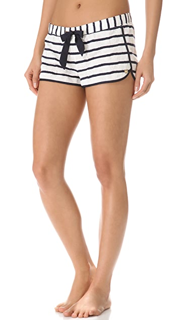Juicy Couture Textured Stripe Shorts